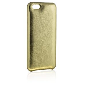 Axpasia Cover for iPhone gold leather